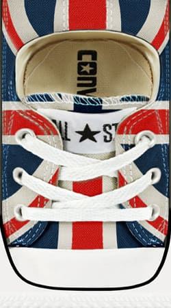 coque Chaussure All Star Union Jack London