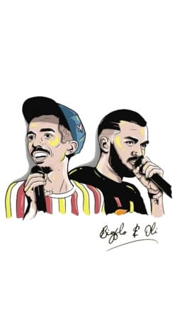 coque Bigflo et Oli Fan Art