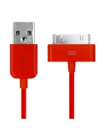 Cable Iphone Rouge USB