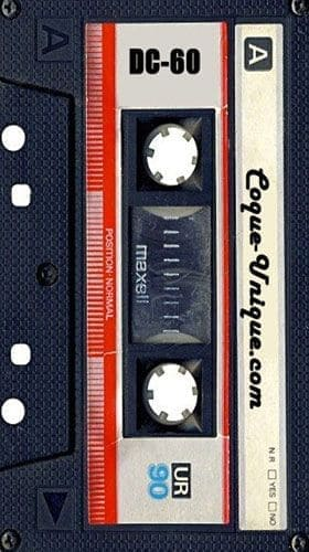 coque Cassette audio K7