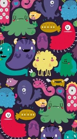 coque Colorful Creatures