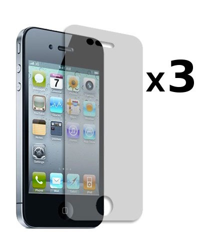 acheter Pack de 3 films de protections Iphone 4/S