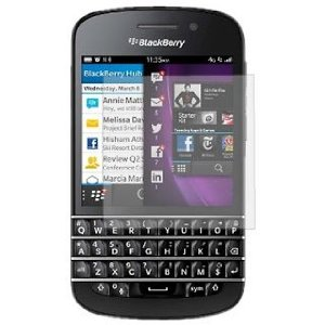 acheter Pack de 2 films de protections Blackberry Q10