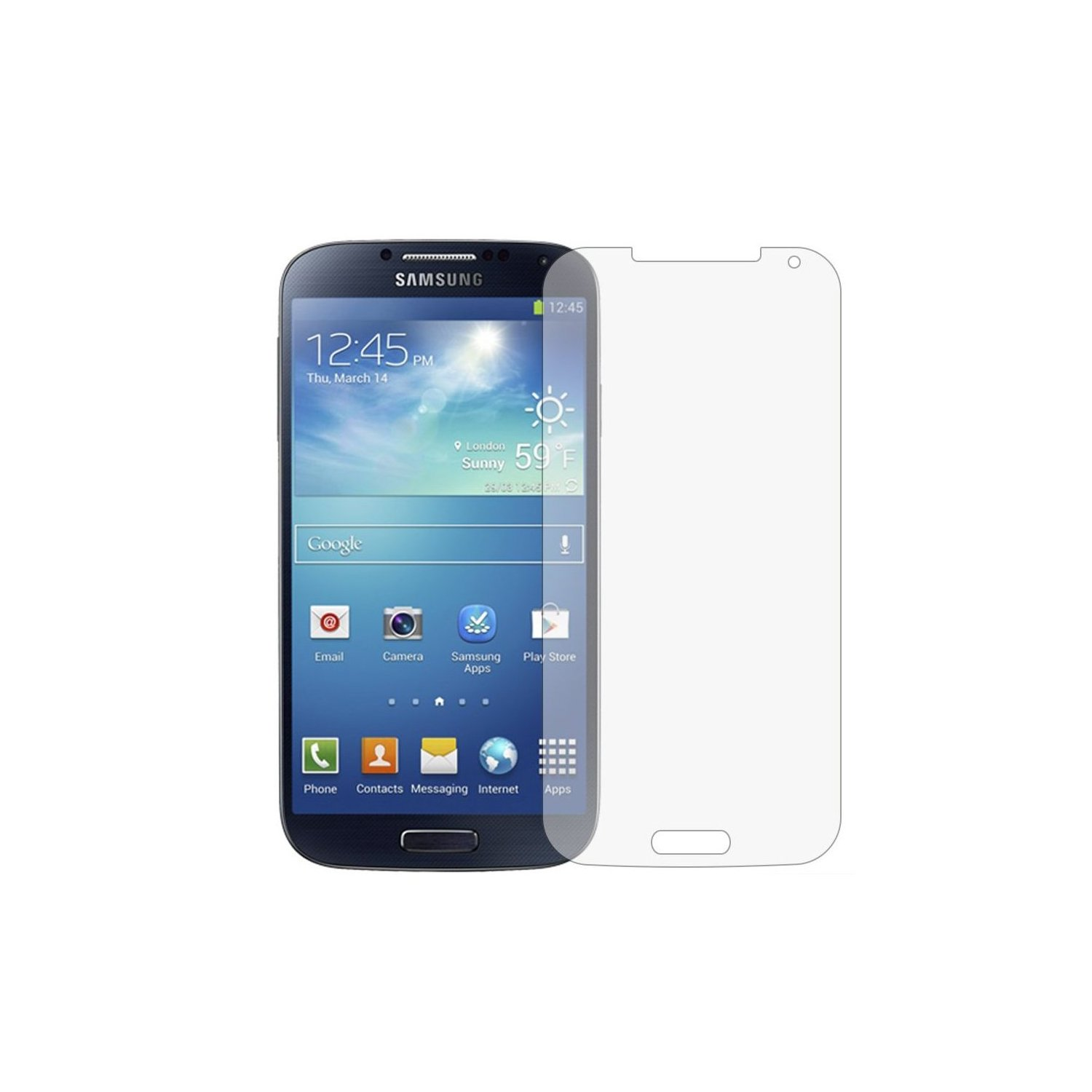 acheter Pack de 2 films de protection Samsung Galaxy S4 i9500 anti rayures