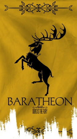 coque Flag House Baratheon
