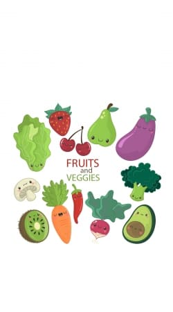 coque Fruits and veggies