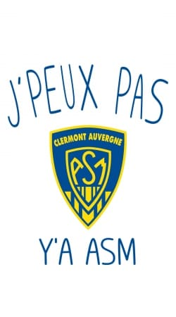 cover Je peux pas ya ASM - Rugby Clermont Auvergne