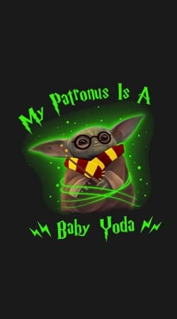 coque My patronus is baby yoda