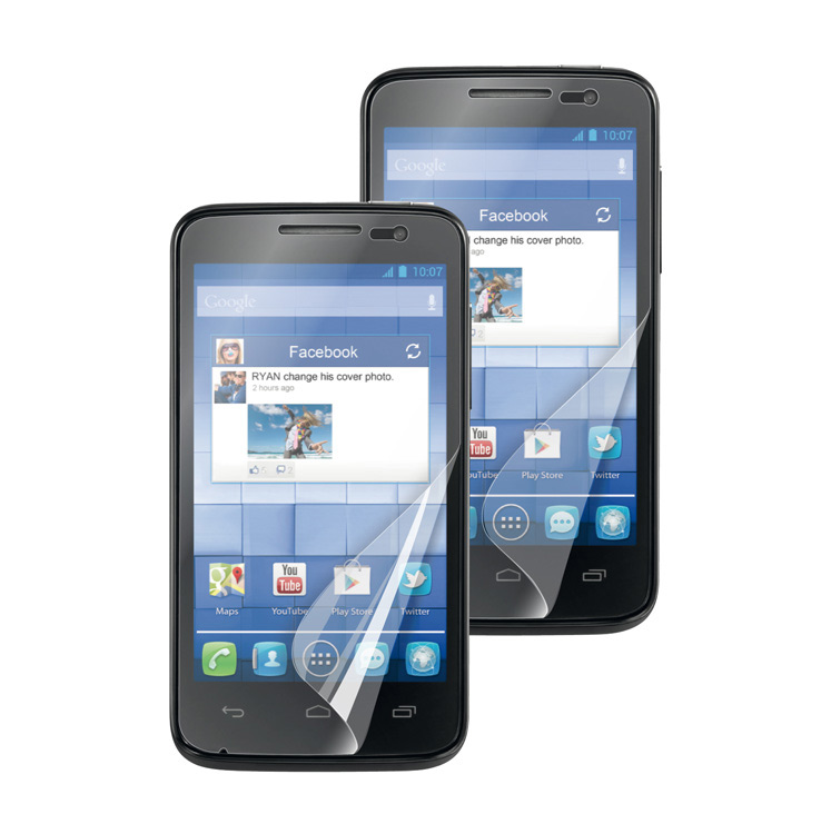 acheter Pack de 2 films de protection Alcatel One Touch M'Pop anti rayures