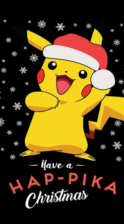 coque Pikachu have a Happyka Christmas