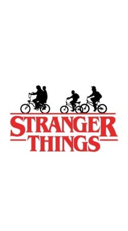 coque Stranger Things by bike