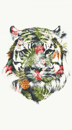 coque Tropical Tiger