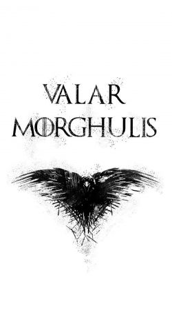 coque Valar Morghulis Got Quotes