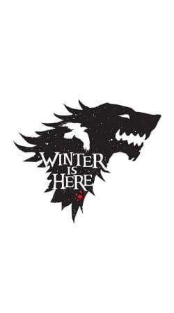 cover Winter is here Game Of Thrones Art Ending