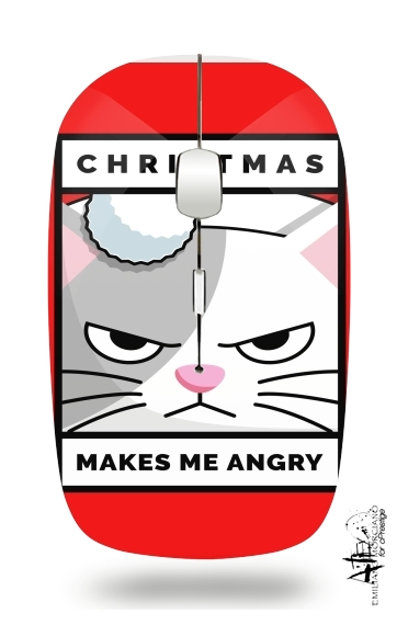 Christmas makes me Angry cat