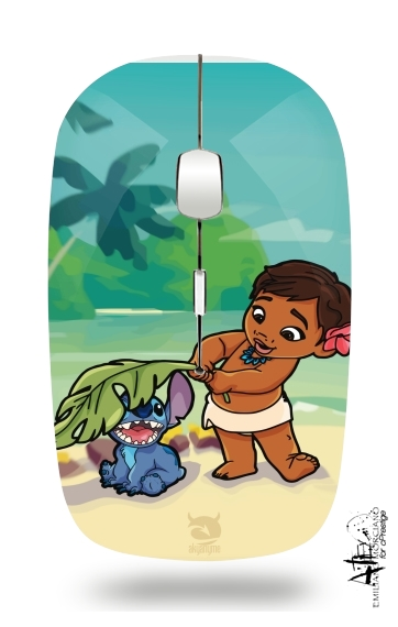 Disney Hangover Moana and Stich