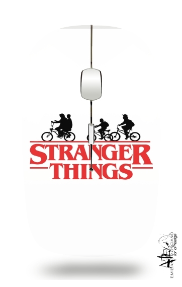 Stranger Things by bike