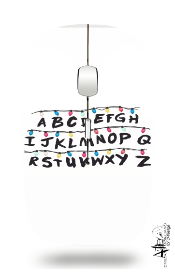 Stranger Things Lampion Alphabet Inspiration