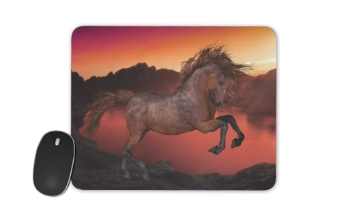 tapis de souris A Horse In The Sunset