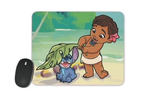 tapis de souris Disney Hangover Moana and Stich