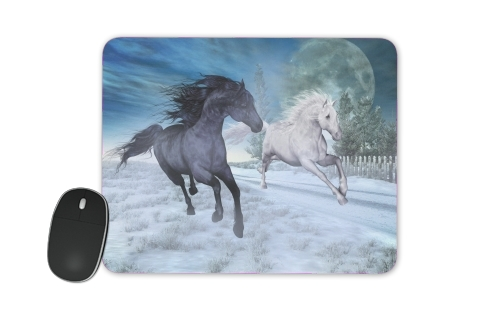 tapis de souris Freedom in the snow