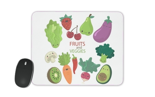 tapis de souris Fruits and veggies