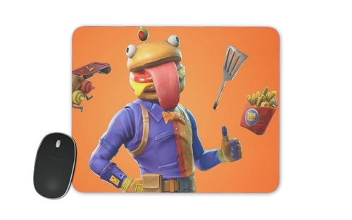 tapis de souris Hamburger Fortnite skins Beef Boss