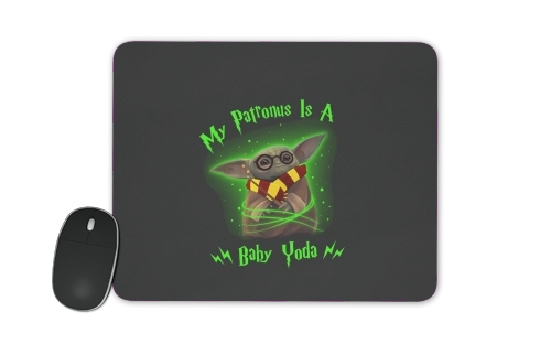 tapis de souris My patronus is baby yoda
