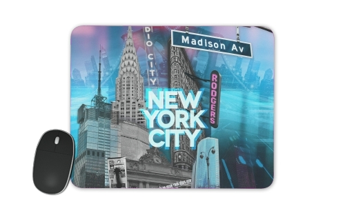 tapis de souris New York City II [blue]