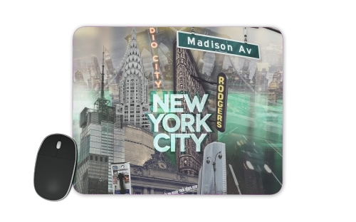tapis de souris New York City II [green]