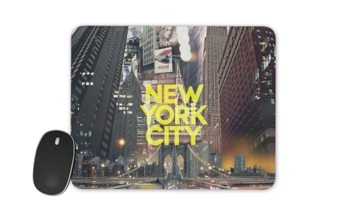 tapis de souris New York City II [yellow]