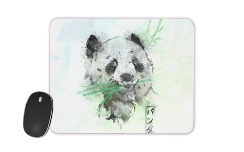 tapis de souris Panda Watercolor