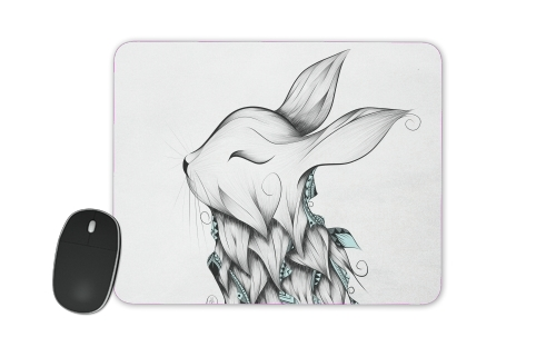 tapis de souris Poetic Rabbit