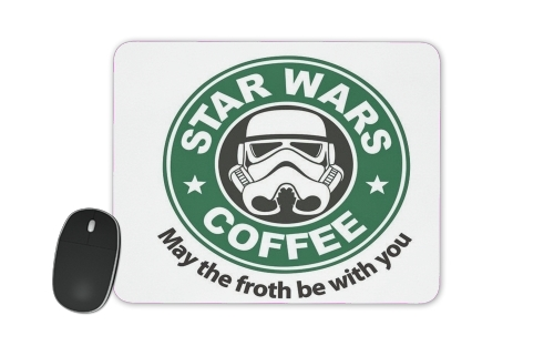 tapis de souris Stormtrooper Coffee inspired by StarWars