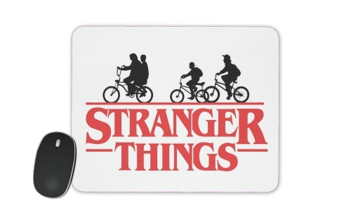 tapis de souris Stranger Things by bike