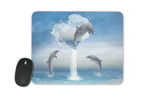 tapis de souris The Heart Of The Dolphins