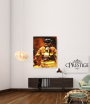 poster Firefighter - pompiere
