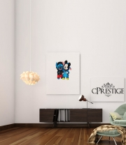 poster Stitch x The mouse