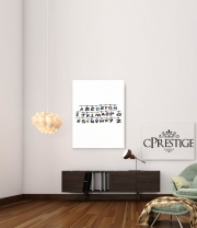 poster Stranger Things Lampion Alphabet Inspiration