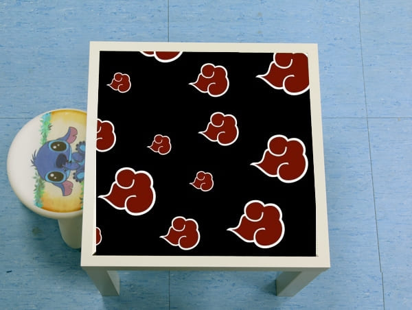 table d'appoint Akatsuki Cloud REd
