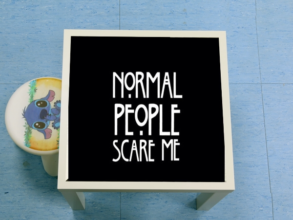 table d'appoint American Horror Story Normal people scares me
