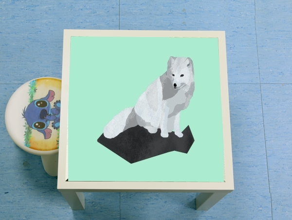 table d'appoint Arctic Fox