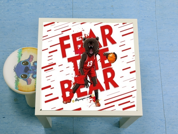 table d'appoint Beasts Collection: Fear the Bear