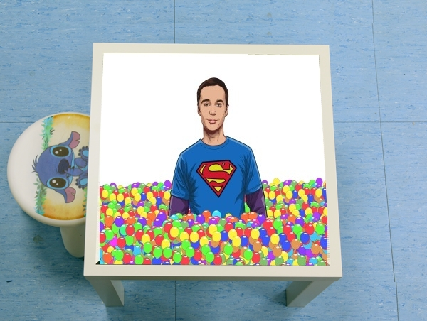 table d'appoint Big Bang Theory: Dr Sheldon Cooper