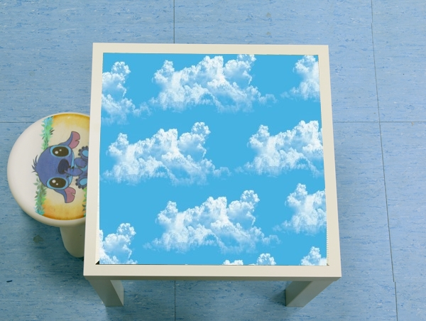 table d'appoint Blue Clouds
