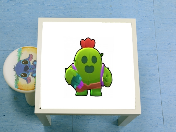 table d'appoint Brawl Stars Spike Cactus
