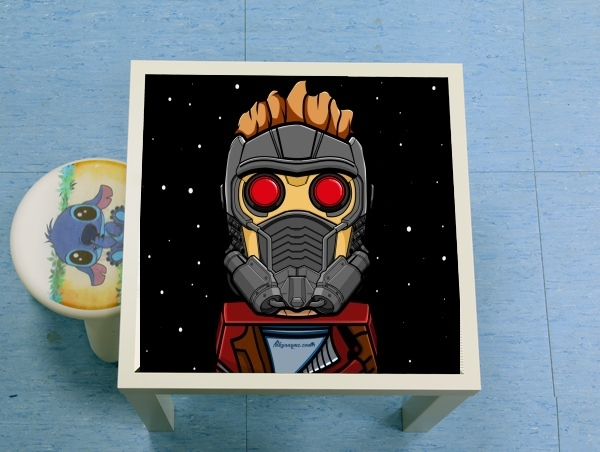 table d'appoint Bricks Star Lord