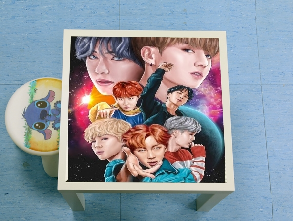 table d'appoint BTS DNA FanArt