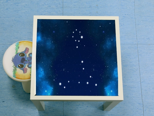 table d'appoint Constellations of the Zodiac: Pisces