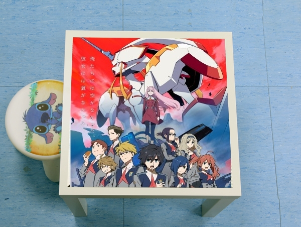 table d'appoint darling in the franxx